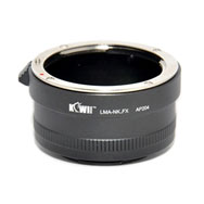 Kiwi Camera Mount Adapter for Nikon F to Fuji X