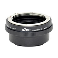 Kiwi Camera Mount Adapter for Nikon G to Fuji X