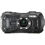 Ricoh WG-60 Waterproof Digital Camera (black) - Open Box