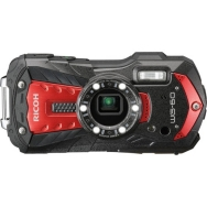 Ricoh WG-60 Waterproof Digital Camera (red) - Open Box