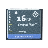 Promaster 16GB Compact Flash 500x Memory Card