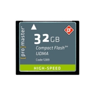 Promaster High Speed 32GB Compact Flash Memory Card