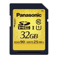 Panasonic SDHC 32GB C10 US Memory Card