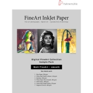 Hahnemuhle Matte Smooth FineArt Inkjet Paper Sample Pack (8.5 x 11