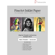 Hahnemuhle Matte Textured FineArt Inkjet Paper Sample Pack (8.5 x 11
