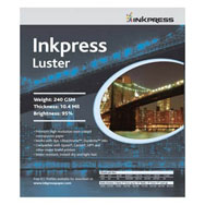 Inkpress Luster 17in x 100ft Paper
