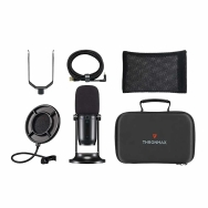 Thronmax MDrill One Pro USB Microphone Kit (Jet Black)