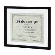 Malden 8.5x11 Document Frame (black)