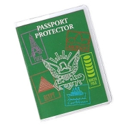 Freeze Clear Passport Protector