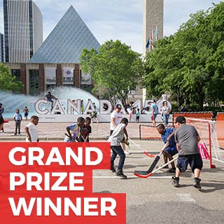 Grand Prize & June Winner for What does Canada mean to Me? - David Aldana