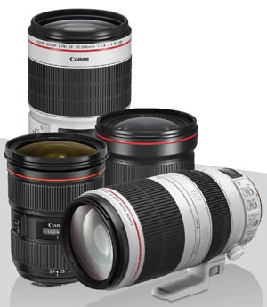 Canon Stack the Savings Lens Promo