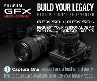 Fujifilm Request a GFX Demo